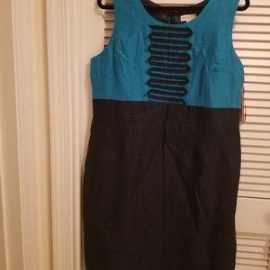 Merona Summer Dress Blue/Teal Size 16